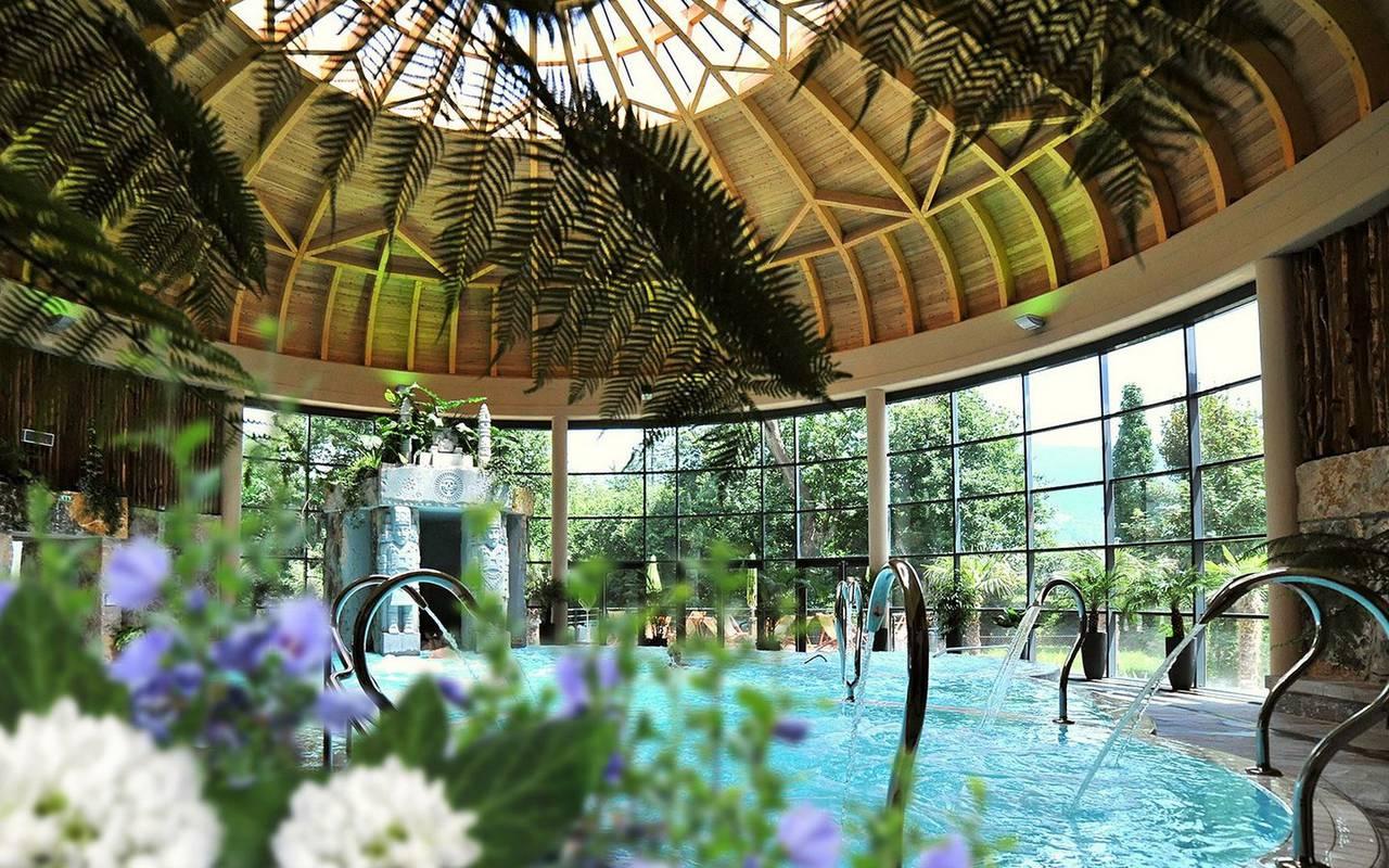 Spa Jardin des Bains, activité en famille Occitanie, hôtel Sainte-Rose