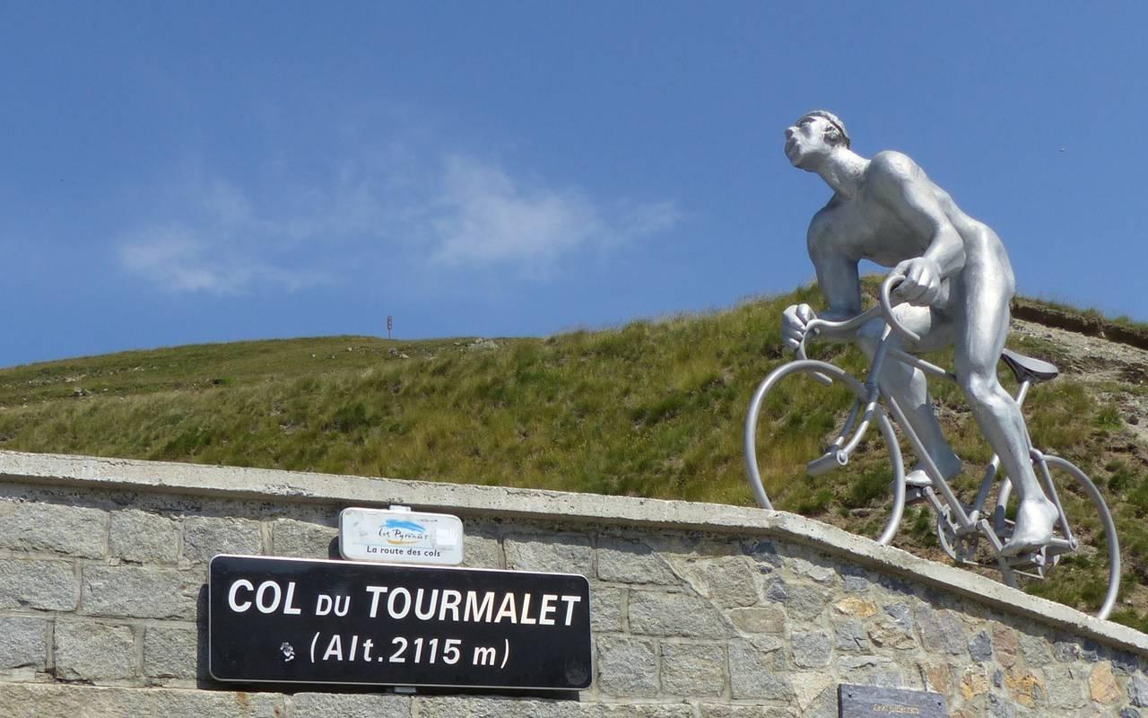 Circuit Tourmalet, cyclotourisme Occitanie, hôtel Sainte Rose